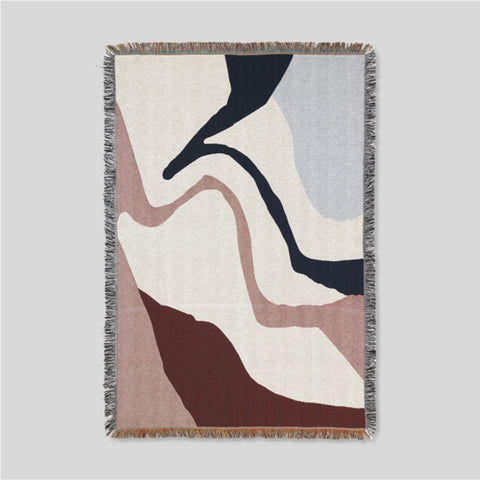 Ferm Living Vista Blanket Off White