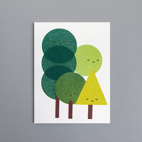 Scout Editions Forest Bathing Card