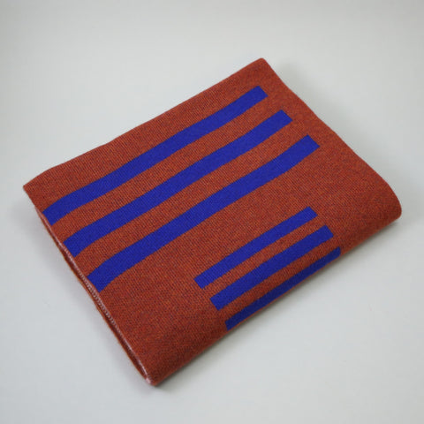 Giannina Capitani Panton Stripe Wide Scarf