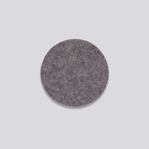 HAY wool felt coasters dark grey- set of four