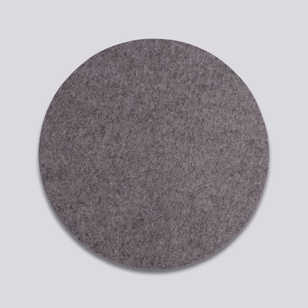 HAY wool felt placemat dark grey