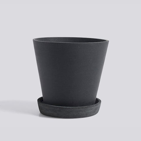 HAY Plant Pot - Black Large