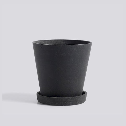 HAY Plant Pot - Black Medium