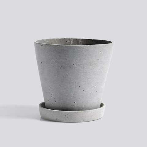 HAY Plant Pot - Grey Large