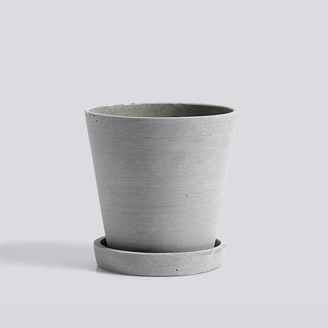 HAY Plant Pot - Grey Medium