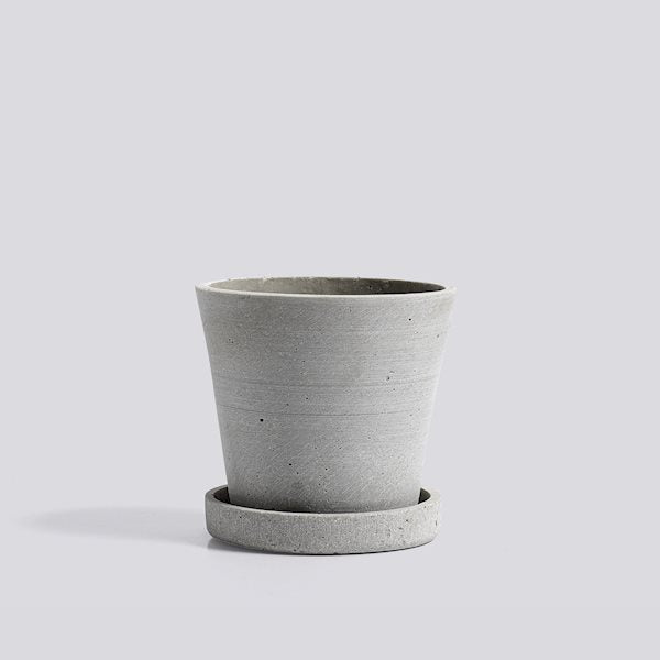 HAY Plant Pot - Grey Small