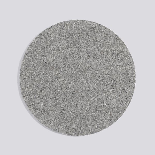 HAY wool felt placemat grey