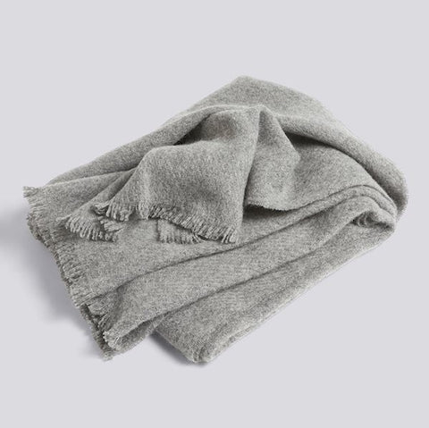 Hay Mono Blanket Steel Grey