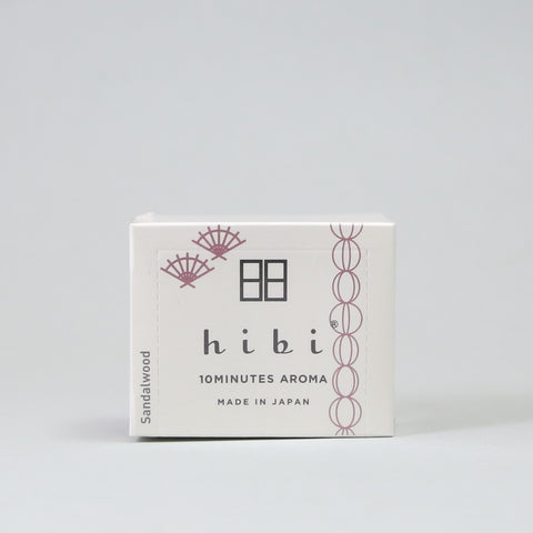 Hibi Incense Matchsticks - Japanese Fragrance 30 stick
