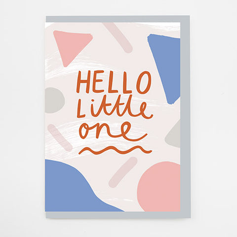 Alison Hardcastle Hello Little One Card