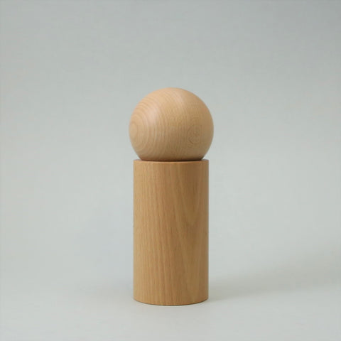 Case Orb Salt or Pepper Grinder - Natural
