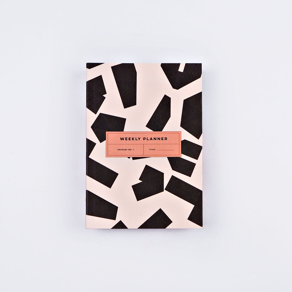 The Completist Pocket sized A6 Weekly Planner - Origami
