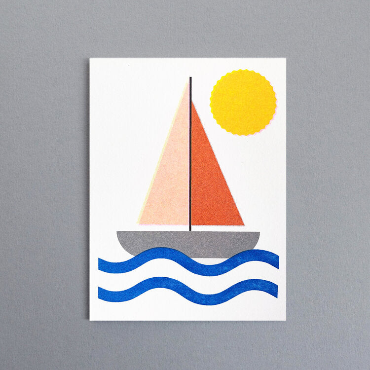 Scout Editions Sailboat Card