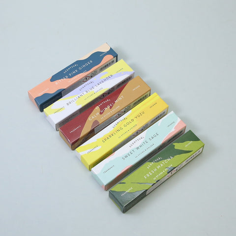 Scentsual Incense Sticks by Kodo Nippon