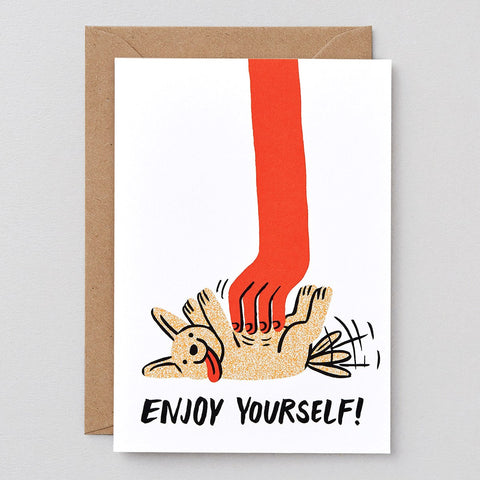 Wrap Enjoy Yourself Card