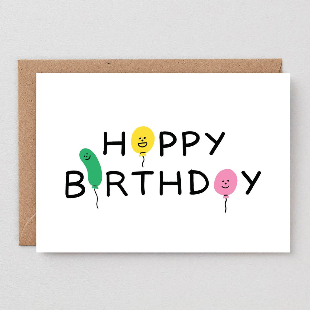 Wrap Happy Birthday Card