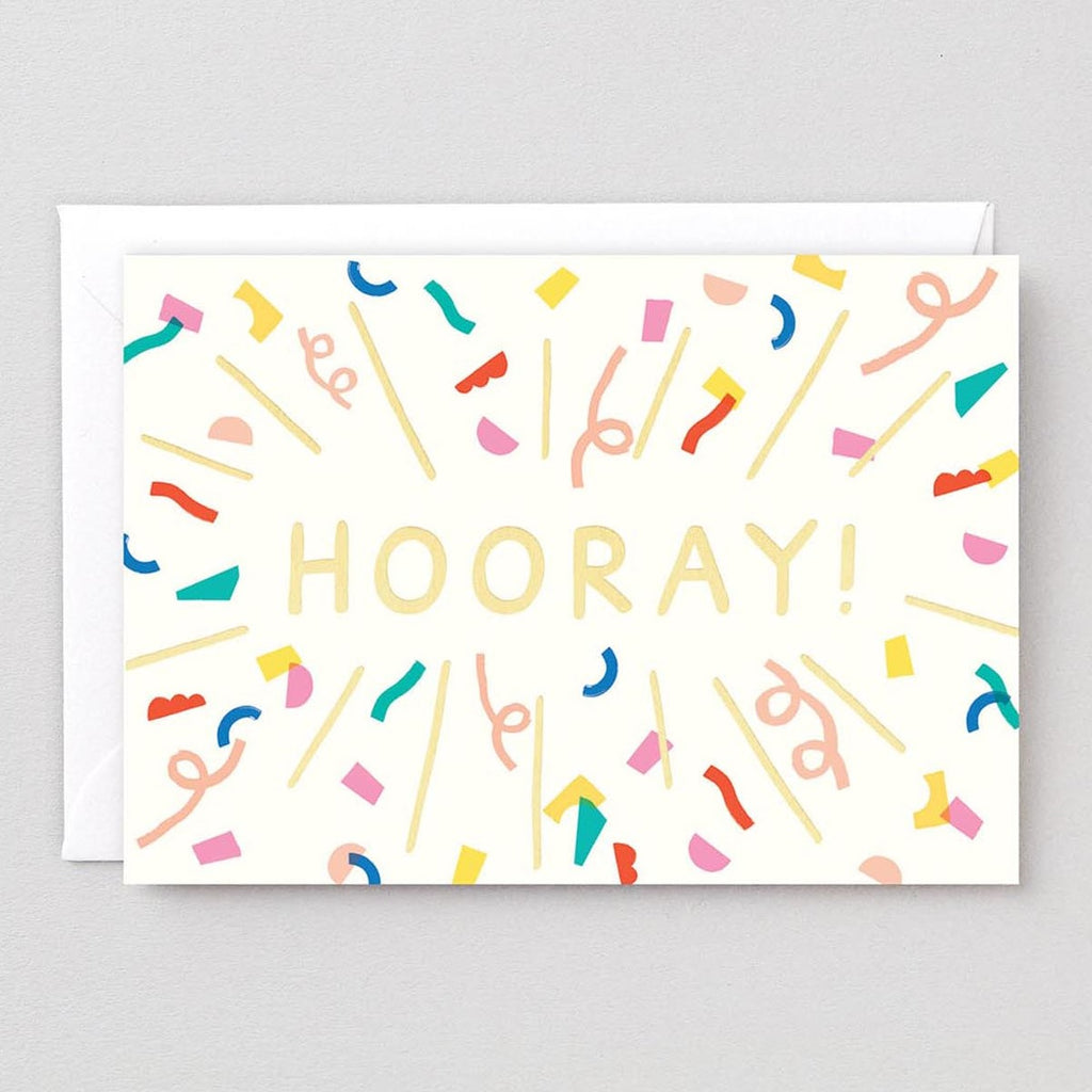 Wrap Hooray Card