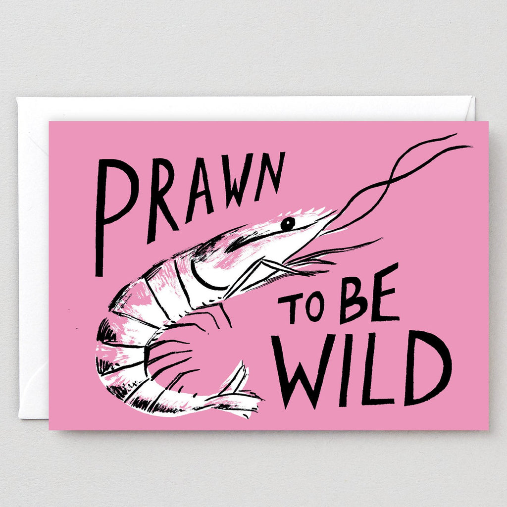 Wrap Prawn To Be Wild Card