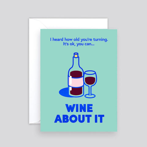 Wrap Wine About It Card