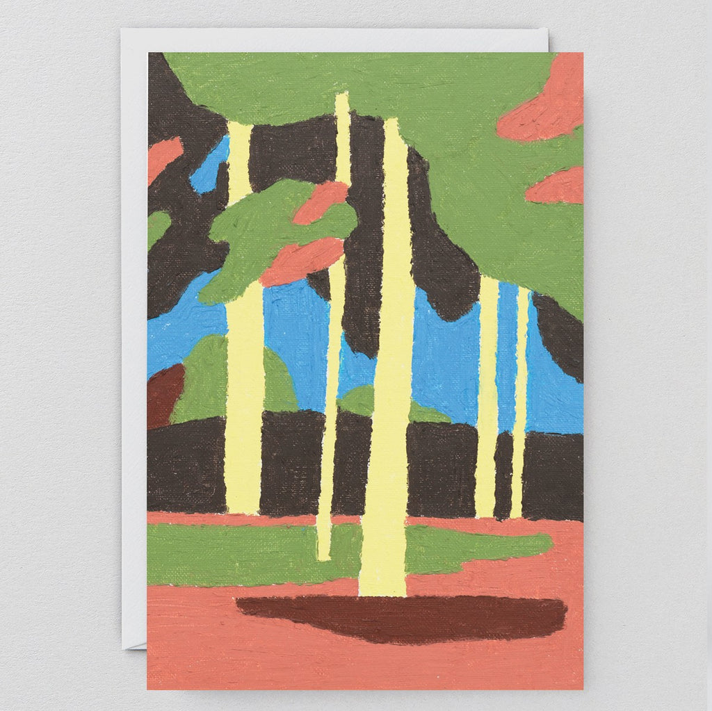 Wrap Yellow Forest Card