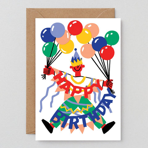 Wrap Birthday OTT Guy Card
