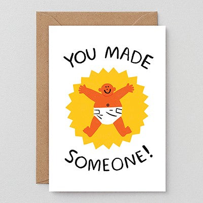 Wrap You Made Someone Card