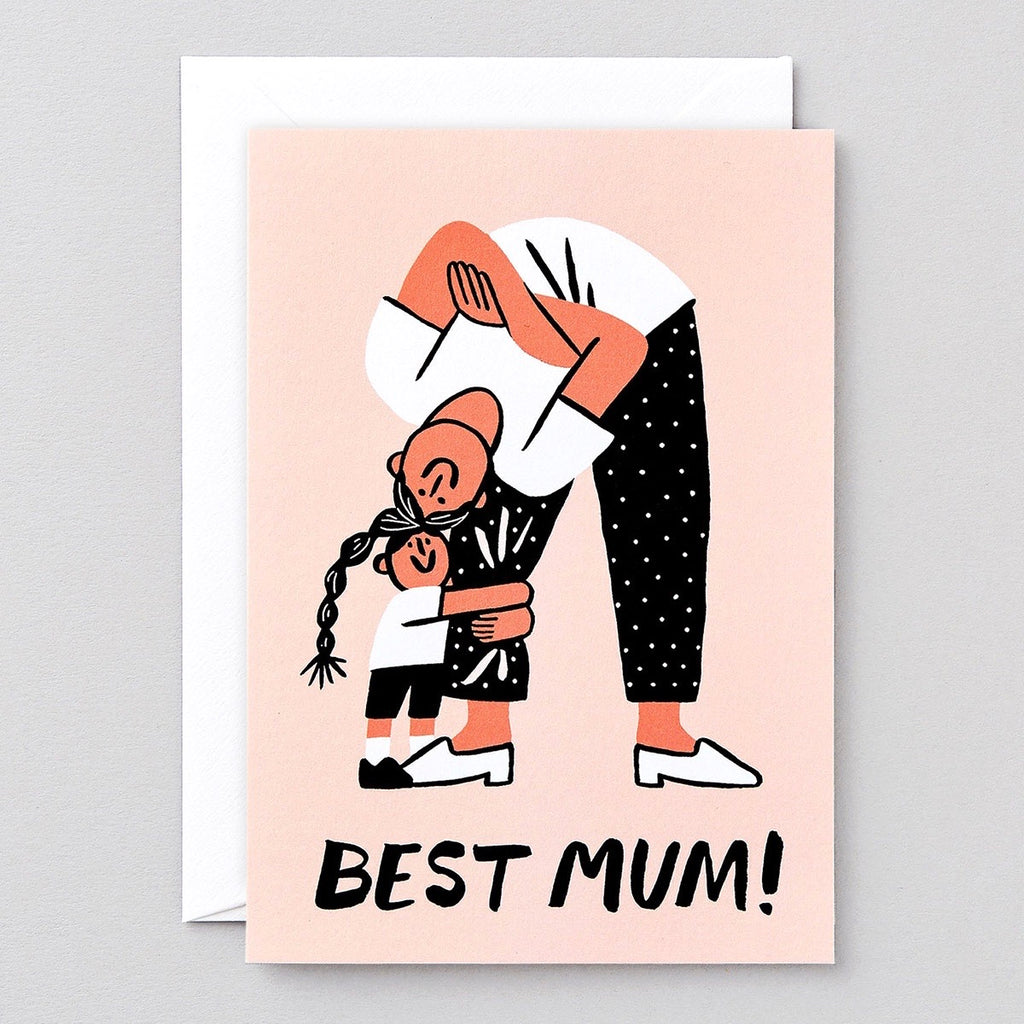 Wrap Best Mum Card