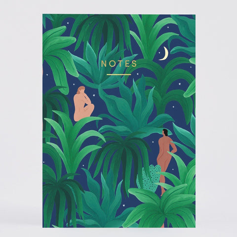 Wrap Night Jungle Notebook