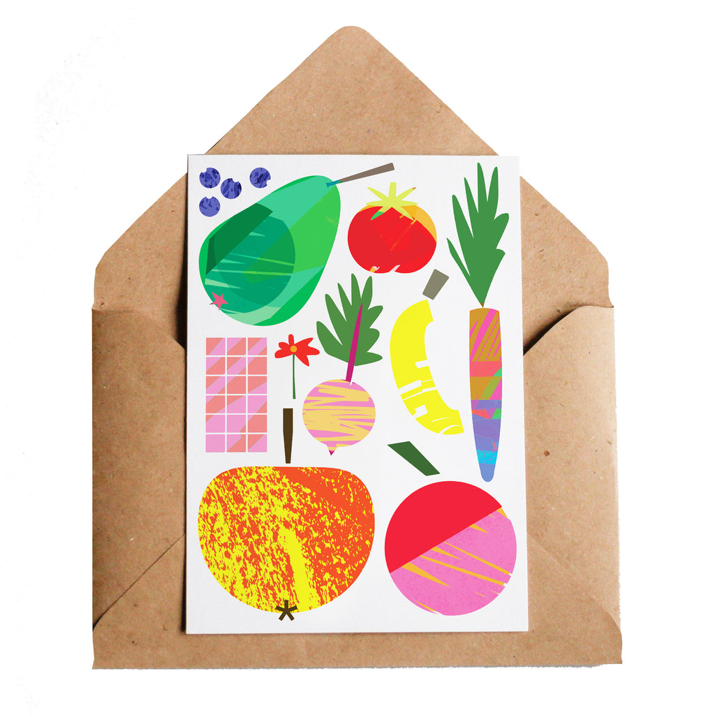 Lottie Hall Fruits and Things Card