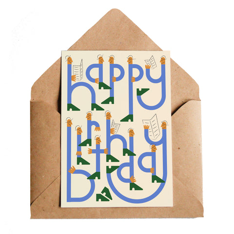 Lottie Hall Birthday Press Card