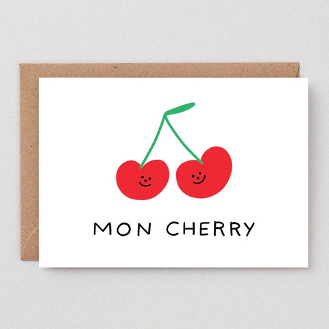 Wrap Mon Cherry Card