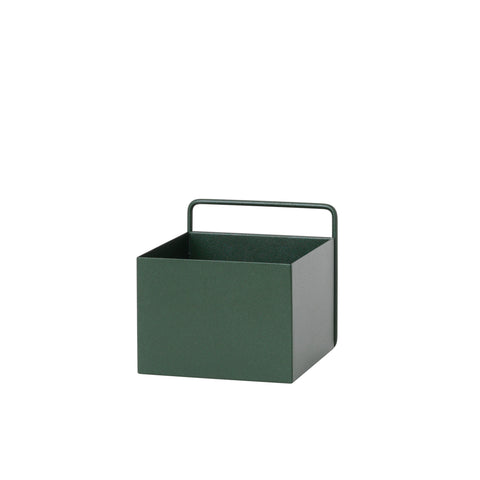 Ferm Living Dark Green Wall Plant Box