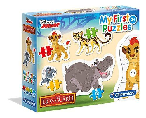 Clementoni Disney The Lion Guard My First Puzzles 4 Pack