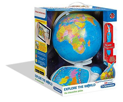 Clementoni Educational Explore The World The Interactive Globe Playset