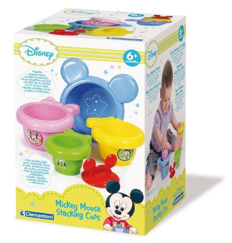 Clementoni Disney Mickey Mouse Baby Mickey Stacking Cups