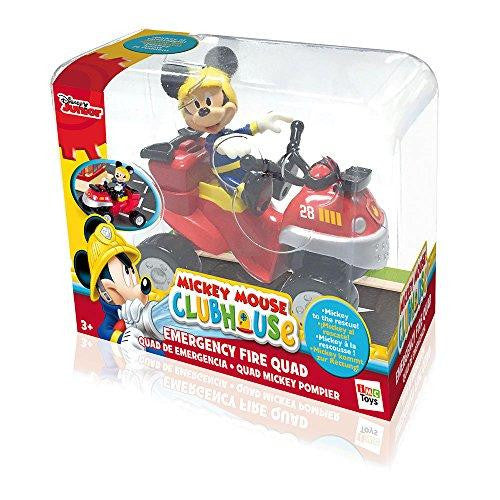 Disney Mickey Mouse Clubhouse Emergency Fire Quad & Figure Playset