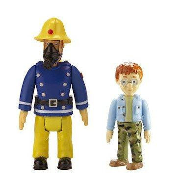 Fireman Sam Norman & Sam With Mask 2 Figure Pack