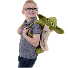 Disney Star Wars Childrens Yoda Soft Plush Backpack