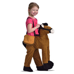 Childrens Dress Up Horse Ride On Fancy Dress Costume 3-7 Years