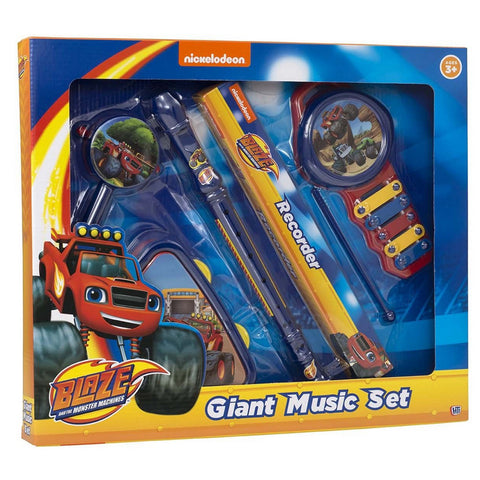 Blaze & The Monster Machines Giant Music Band Set