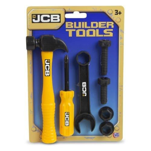 JCB Builder Tools 7 Piece Kit