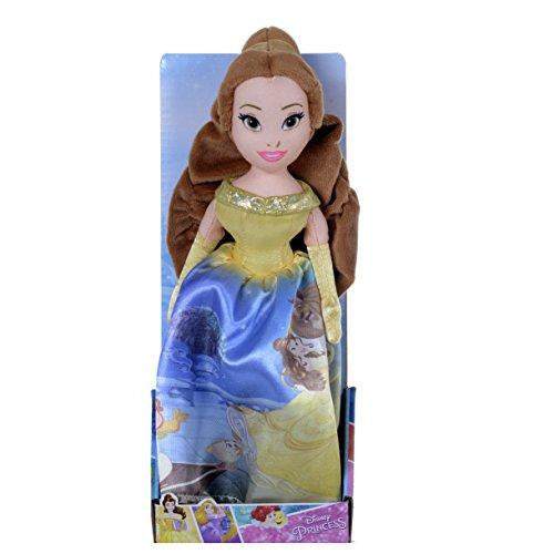 Disney Princess Beauty & The Beast 10 Inch Story Telling Belle Soft Plush Toy