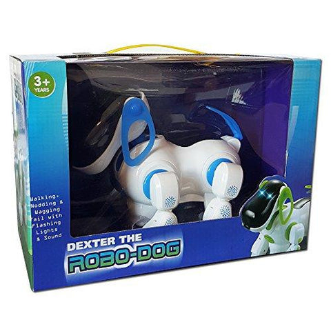 Dexter The Robo Dog Animated Pet With Lights & Sound