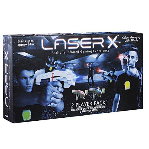Laser 2 Player Pack Real Life Infrared Gaming Experience