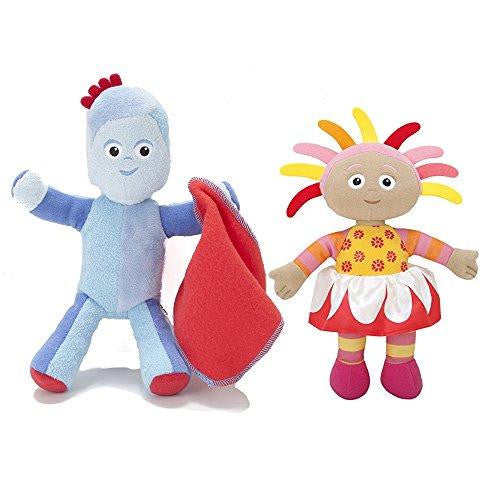 In The Night Garden Talking Iggle Piggle & Upsy Daisy Soft Plush Set