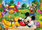 Clementoni Super Color Maxi Mickey Mouse Clubhouse 104 Piece Jigsaw Puzzle