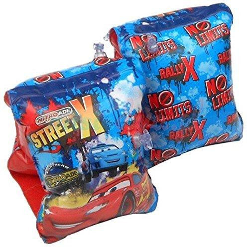 Disney Cars Childrens Inflatable Safety Swimming Arm Bands