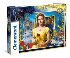 Clementoni Disney Beauty & The Beast Super Color 104 Piece Jigsaw Puzzle