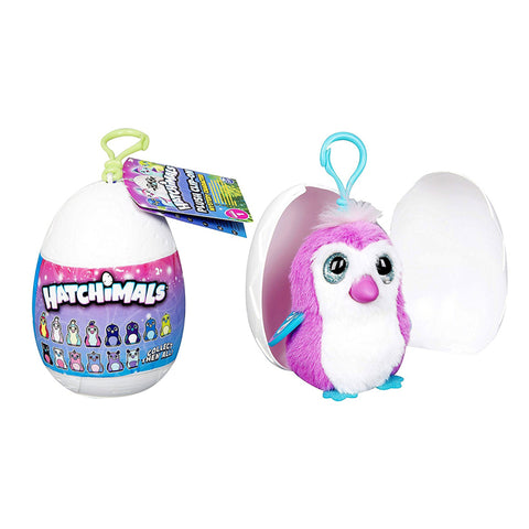 Hatchimals Mystery Character Plush Clip On Egg