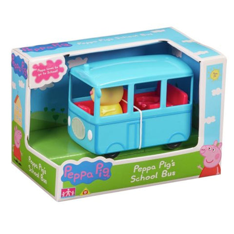 Peppa Pig School Bus With Figure